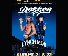 Don Dokken & George Lynch @ The Whisky a Go Go – Dokken / Lynch Mob 2020 – Hollywood, CA w/ Encore Performance