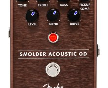 Fender Smolder Acoustic Overdrive Guitar Pedal – Setup – Tutorial – Purchase