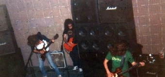 Megadeth: First Band Rehearsals w/ Kerry King/Photos Posted Online @ Curly Joe's Studio, L.A. '83-'84