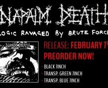 "Napalm Death: New 7"" / Digital EP 2020 – Logic Ravaged By Brute Force"