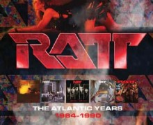 RATT 'The Atlantic Years 1984-1990' Box Set 2020
