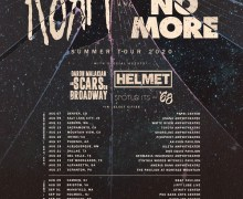 Faith No More / Korn / Helmet 2020 Tour – Denver, Salt Lake, Irvine, Phoenix, Dallas, Houston, Brooklyn, Toronto….