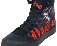Dio 'Holy Diver' Shoes via EMP Merchandising