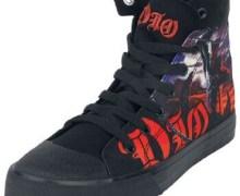 Dio 'Holy Diver' Shoes via EMP Merchandising