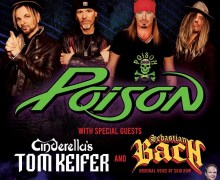 Poison, Tom Keifer (Cinderella), Sebastian Bach (Skid Row) @ BOK Center 2020 – Tulsa, OK
