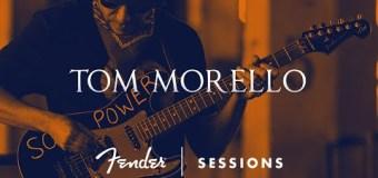 Fender Sessions: Tom Morello Talks 'Soul Power' Strat, Influences & Performs Improvised Set