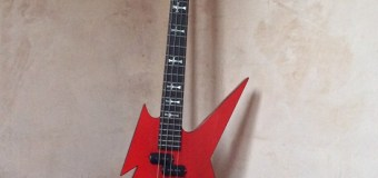 Geezer Butler's Custom B.C. Rich from 1985 Black Sabbath / Live Aid Reunion Show