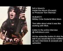 Mötley Crüe Producer Talks Guitarist Mick Mars – 'Shout at the Devil' & 'Girls' – Tom Werman Interview Excerpt
