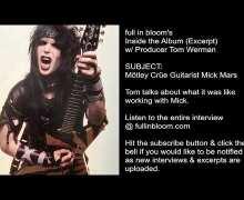Mötley Crüe Producer Talks Guitarist Mick Mars – 'Shout at the Devil' & 'Girls' – Tom Werman Interview Excerpt