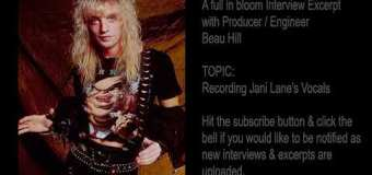 Warrant Producer: Recording Jani Lane's Vocals on 'Dirty Rotten Filthy Stinking Rich' – Beau Hill Interview Excerpt
