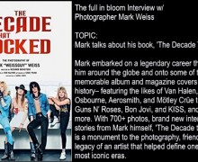 Photographer Mark Weiss Talks New Book,Mötley Crüe,Van Halen,Ozzy,Dokken,Skid Row,W.A.S.P. full in bloom Interview