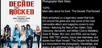 Photographer Mark Weiss Talks New Book,Mötley Crüe,Van Halen,Ozzy,Dokken,Skid Row,W.A.S.P. full in bloom Interview