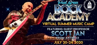 """Anthrax's Scott Ian: """"Wanna be in a band with me this summer? Metal Camp is back!"""" – Register – 2020"""