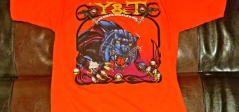Y&T 'Black Tiger' / 'Mean Streak' Vintage T-Shirt from '85-'86 Tour Available @ FIBITS