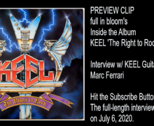 KEEL Guitarist Talks 1985 Album 'The Right to Rock' + Gene Simmons – Marc Ferrari Interview Preview