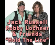 "Jack Russell, Robin McAuley Cover Toto's ""Hold the Line"" w/ Jose Antonio Rodriguez"
