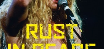 'Rust in Peace: The Inside Story of the Megadeth Masterpiece' BOOK ANNOUNCEMENT