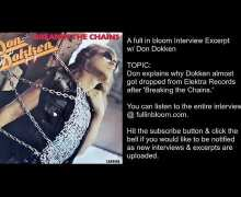 Don Dokken On How 'Tooth and Nail' Almost Didn't Happen After 'Breaking the Chains' – Interview Excerpt