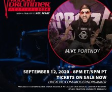 Mike Portnoy: Tribute to Neil Peart – Modern Drummer Festival 2020 – LiveXLive – Tickets