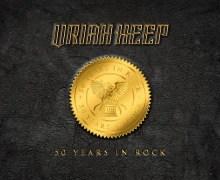 Uriah Heep '50 Years of Rock' Super-Deluxe CD Box Set – 2020