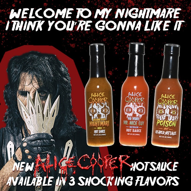 Alice Cooper Hot Sauce No More Mr Nice Guy Poison Reaper Welcome To My Nightmare Full In Bloom It was created by mr nightmare. alice cooper hot sauce no more mr