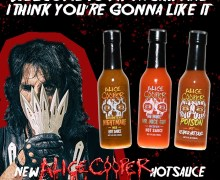Alice Cooper Hot Sauce: No More Mr. Nice Guy, Poison Reaper, Welcome To My Nightmare