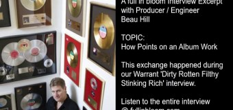 How Royalty Points on Album Sales Work – Producer Beau Hill Explains – Music Royalties