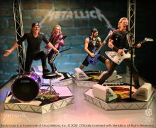 Metallica 'Worldwired Tour' Rock Iconz Statue Set by KnuckleBonz