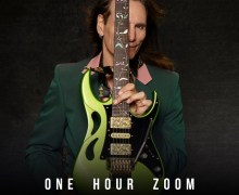 Steve Vai: Bid On 1 Hour Zoom Guitar Lesson for Charity – Extraordinary Families