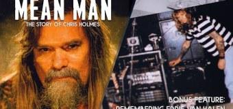 Ex-W.A.S.P. Guitarist Chris Holmes Talks Eddie Van Halen – Bonus Interview Feature from MEAN MAN Documentary
