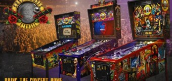 Guns N' Roses 'Not In This Lifetime' Pinball Machines – Standard, Limited, Collector's Editions AVAILABLE NOW