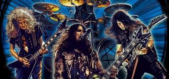 Destruction: 'Born To Thrash – Live in Germany' – Vinyl/LP/CD/DVD Limited Blue & Black Splatter – Digipak