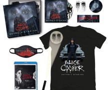 Alice Cooper: 'Detroit Stories' Box Set Unveiled – New Album 2020-2021 – CD/Blu-Ray/T-Shirt/Facemask/Torch Light/Sticker Set