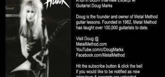 Metal Method Founder Doug Marks On How He Built His Guitar Instruction Empire in the '80s-Interview Excerpt