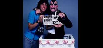 Ozzy Shaves His Head Before The Circus Magazine 13th Anniversary Photo Shoot w/ Mark Weiss in 1982