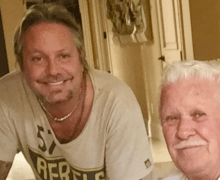 "Vince Neil's Dad, Clois Odell Wharton, Dies @ 83 – ""He died peacefully surrounded by loved ones"""