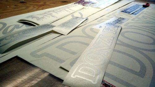 Custom Text Vinyl Decals