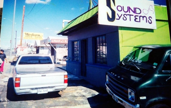 Sound systems shop