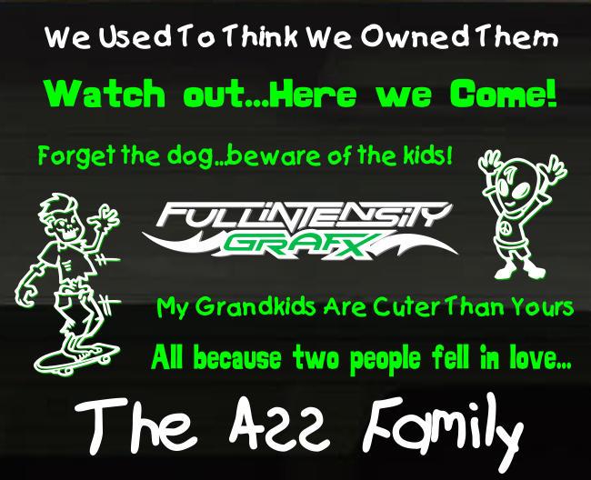 Family Sticker Idea #1