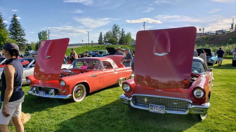 Old School Ford Thunderbirds