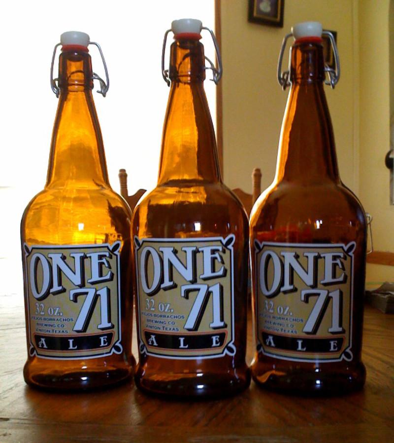 beer bottle logo decals