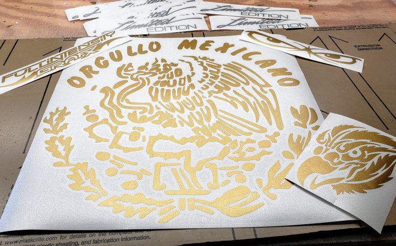 Orgullo Mexicano Decal