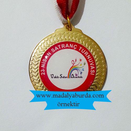 ana okulu satranç-madalyası