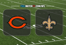 Chicago Bears vs New Orleans Saints