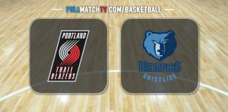 Portland Trail Blazers vs Memphis Grizzlies