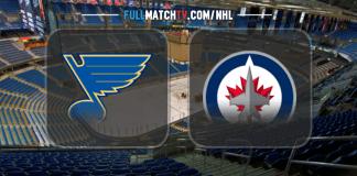 St. Louis Blues vs Winnipeg Jets