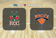 Milwaukee Bucks vs New York Knicks