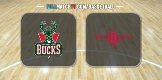 Milwaukee Bucks vs Houston Rockets
