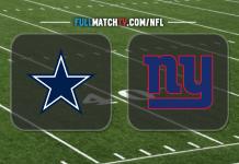 Dallas Cowboys vs New York Giants