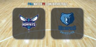 Charlotte Hornets vs Memphis Grizzlies